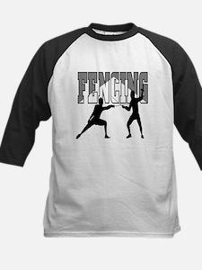 Fencing Logo (Black & Grey) Tee