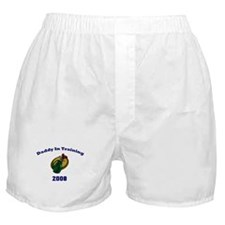 Daddy in Training Golf 08 Boxer Shorts