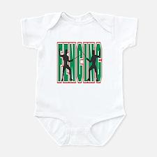 Fencing Logo (Green) Infant Bodysuit