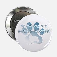 """Sheltie Granddog 2.25"""" Button"""