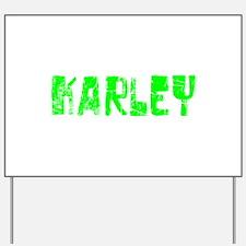 Karley Faded (Green) Yard Sign