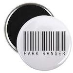 Park Ranger Barcode Magnet