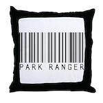 Park Ranger Barcode Throw Pillow