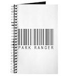 Park Ranger Barcode Journal