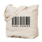 Park Ranger Barcode Tote Bag