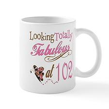 Fabulous 102nd Small Mug