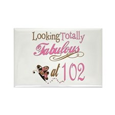 Fabulous 102nd Rectangle Magnet