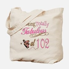 Fabulous 102nd Tote Bag