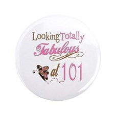 "Fabulous 101st 3.5"" Button"