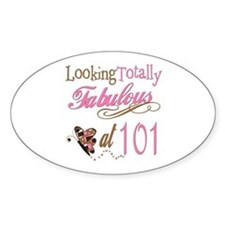 Fabulous 101st Oval Decal