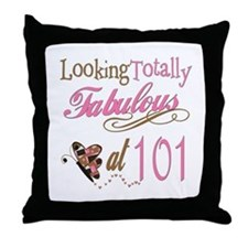 Fabulous 101st Throw Pillow