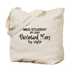 Med Student Devoted Mom Tote Bag