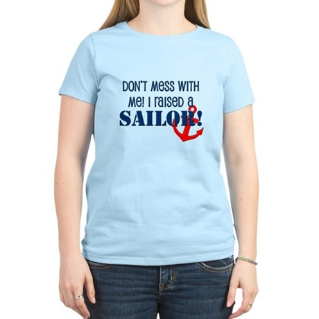 Raised a Sailor Women's Light T-Shirt