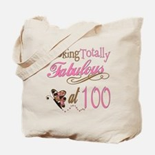 Fabulous 100th Tote Bag