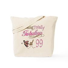 Fabulous 99th Tote Bag