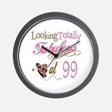 Fabulous 99th Wall Clock