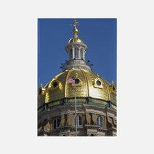 Iowa State Capitol Dome Rectangle Magnet