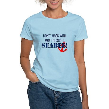 Raised a Seabee Women's Light T-Shirt
