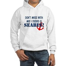 Raised a Seabee Hoodie