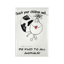 Teach your children well... Rectangle Magnet