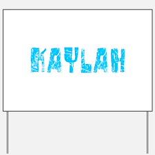 Kaylah Faded (Blue) Yard Sign