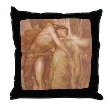 Orpheus & Eurydice Throw Pillow
