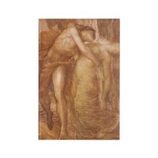Orpheus & Eurydice Rectangle Magnet