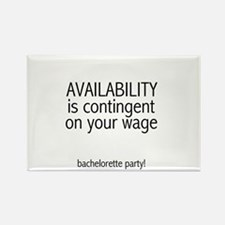 Availability Contingent Rectangle Magnet