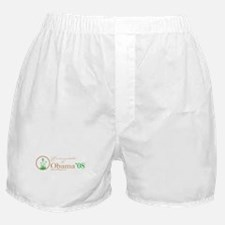 Environmentalists for Obama Boxer Shorts