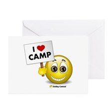 I Heart Camp Greeting Cards (Pk of 10)