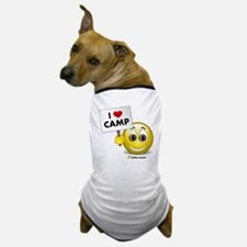 I Heart Camp Dog T-Shirt