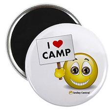 I Heart Camp Magnet