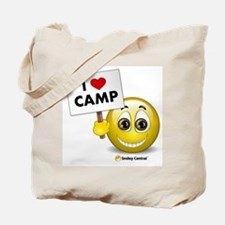 I Heart Camp Tote Bag