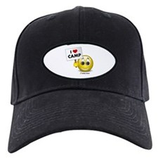I Heart Camp Baseball Hat