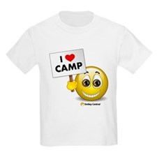 I Heart Camp Kids T-Shirt