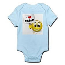 I Heart Camp Infant Creeper