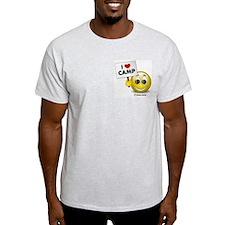 I Heart Camp Ash Grey T-Shirt
