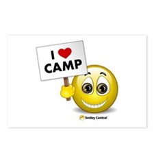 I Heart Camp Postcards (Package of 8)