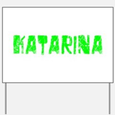 Katarina Faded (Green) Yard Sign