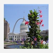 St. Louis! Tile Coaster