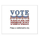 Vote Democrat Small Poster