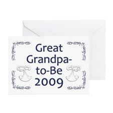 Great Grandpa-to-Be 2009 Greeting Cards (Pk of 10)