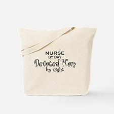 Nurse Devoted Mom Tote Bag