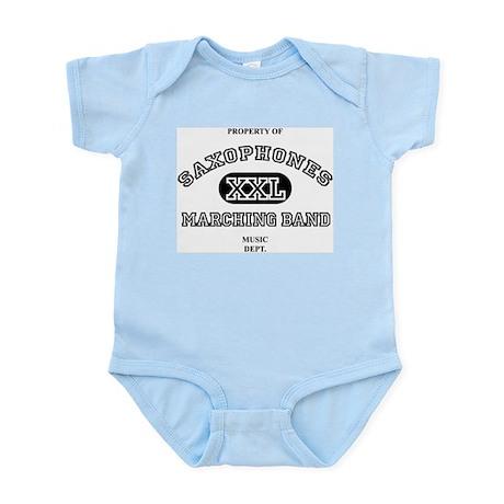 Property of Saxophones XXL Infant Creeper
