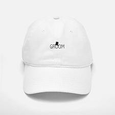 Top Hat Groom Baseball Baseball Cap