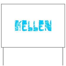 Kellen Faded (Blue) Yard Sign