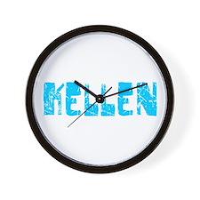 Kellen Faded (Blue) Wall Clock