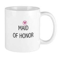 Hearts Maid of Honor Mug