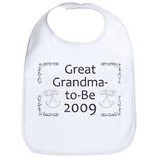 Great Grandma-to-Be 2009 Bib