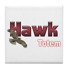 Hawk Tile Coaster